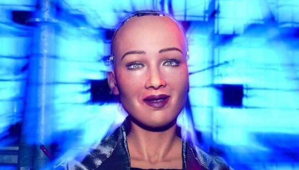 Sophia Robot Hanson Robotics Web Summit 2018